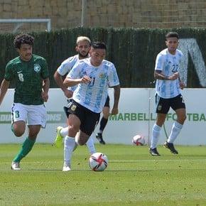 La Selección Sub-23 ganó su último partido antes de los Juegos Olímpicos