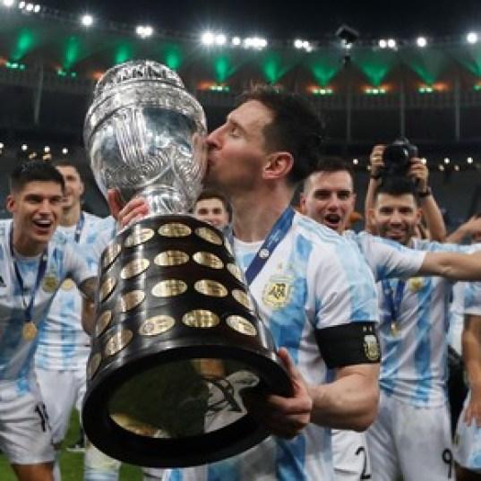 """Messi: """"Dios estaba guardando este momento para mí"""""""