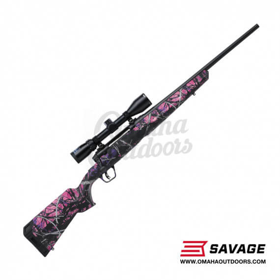 Savage Arms AXIS II XP Compact Muddy Girl Bolt Rifle 243