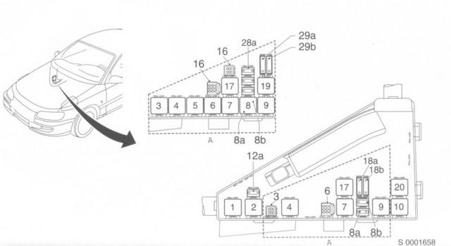 astra j fuse box layout