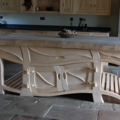 Handmade Kitchen Islands 8 Island Quirky Kitchens Sculptural And