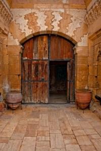 Ancient Door, Sarihan Caravanserai