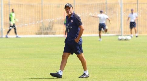 Yossi Aboksis in training (Micha Benano)
