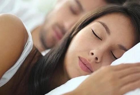 Sex can improve your sleep.