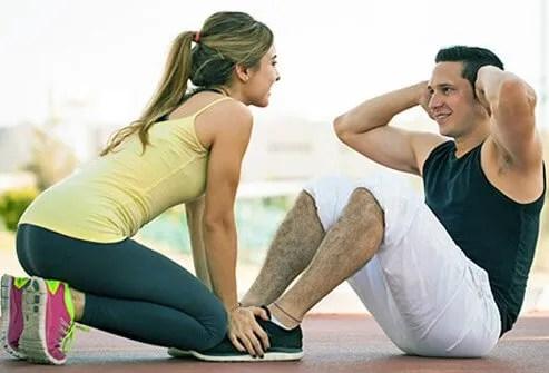 Sex improves cardiovascular health.