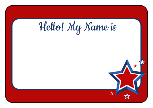 Design Name Tag
