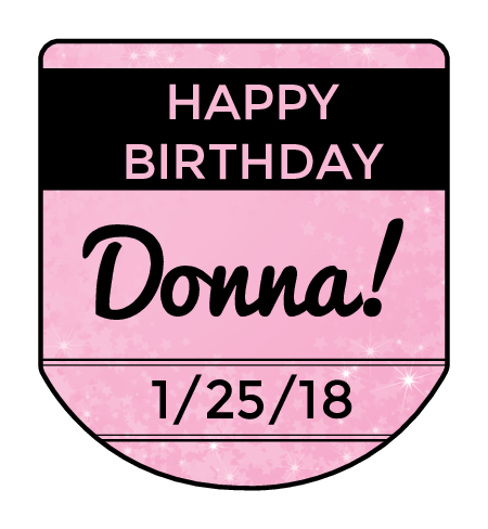 birthday label templates download