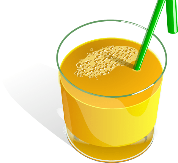 onlinelabels clip art - juice glass