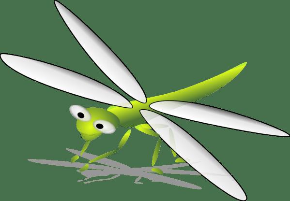 onlinelabels clip art - libellule