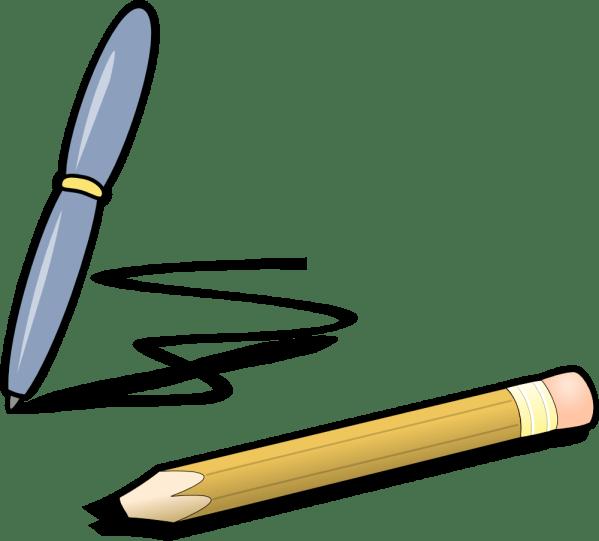 Onlinelabels Clip Art - Pen & Pencil