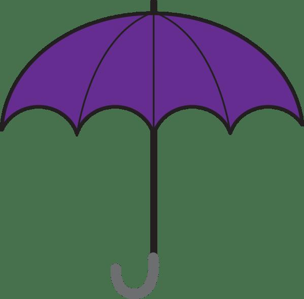 Onlinelabels Clip Art - Open Umbrella