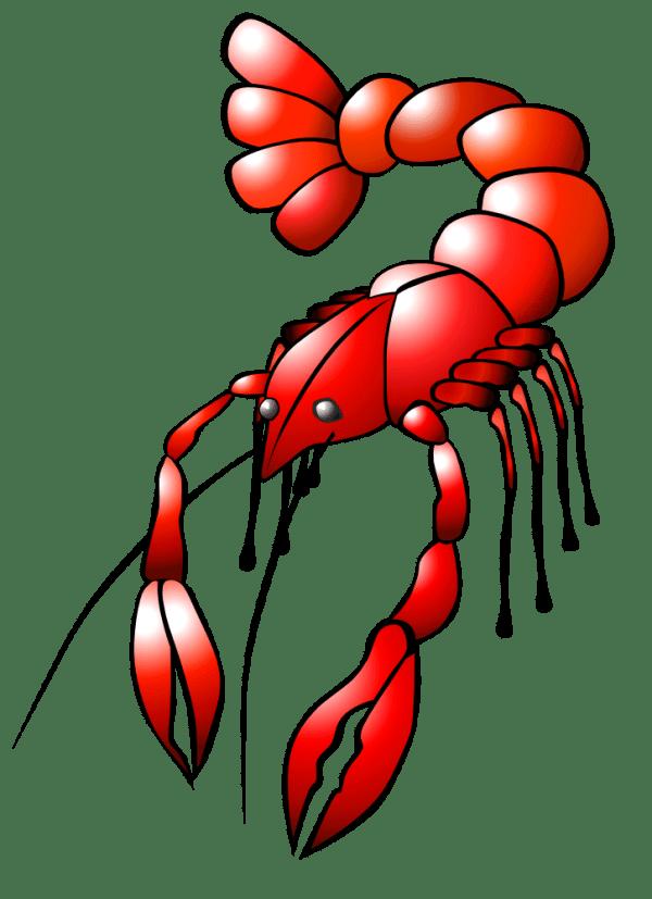 onlinelabels clip art - crawfish