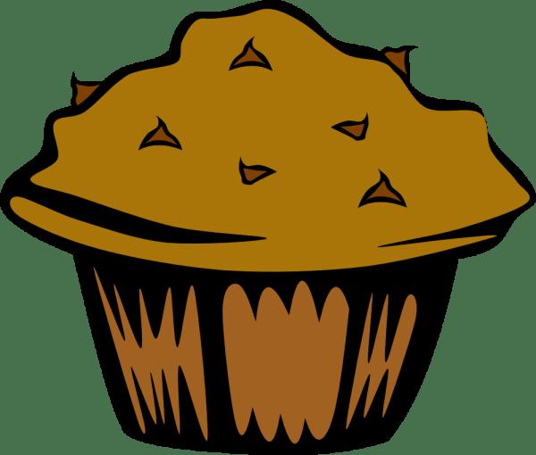 Cartoon Muffin Clip Art