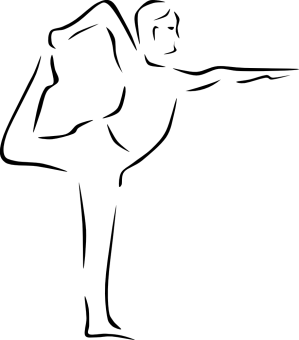 yoga poses clip stylized onlinelabels