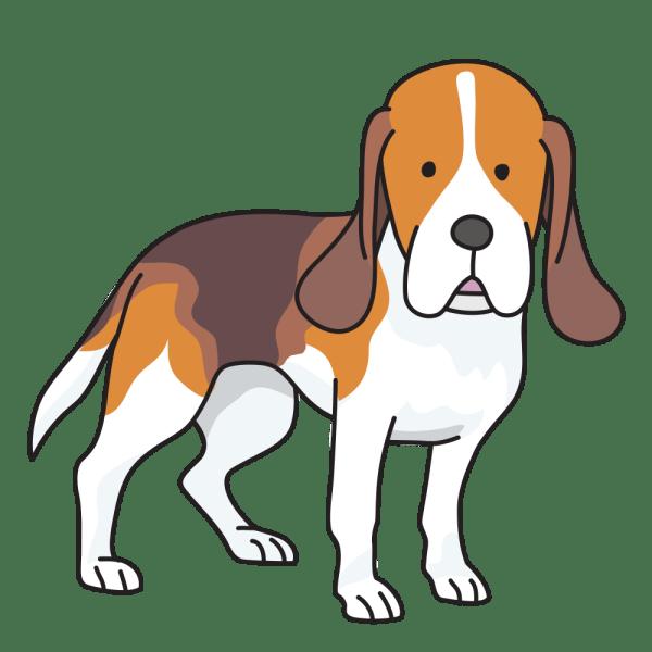 onlinelabels clip art - dog beagle