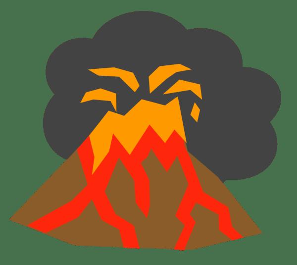 Onlinelabels Clip Art - Volcano