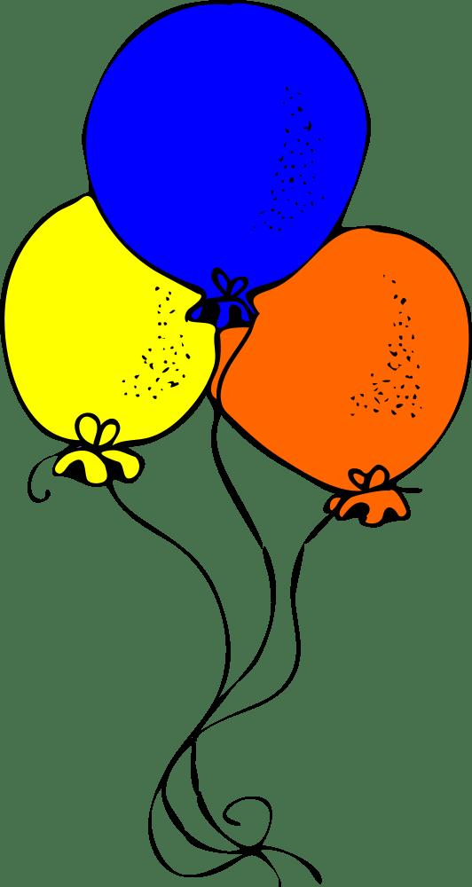 onlinelabels clip art - blue orange