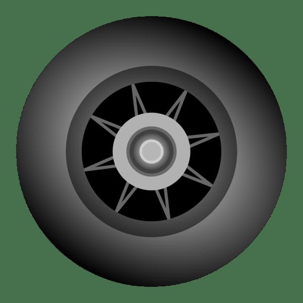 Onlinelabels Clip Art - Inline Skate Wheel