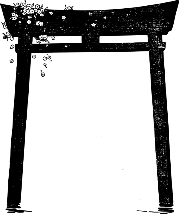 Onlinelabels Clip Art - Torii Blossoms
