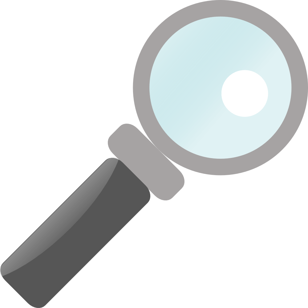 hight resolution of magnifying glass