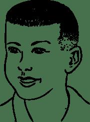 onlinelabels clip art - short haircut