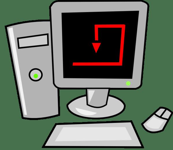 Onlinelabels Clip Art - Computer