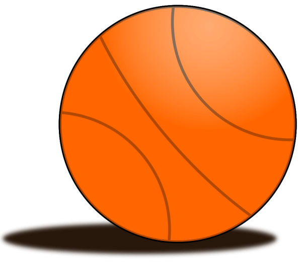 Onlinelabels Clip Art - Basketball