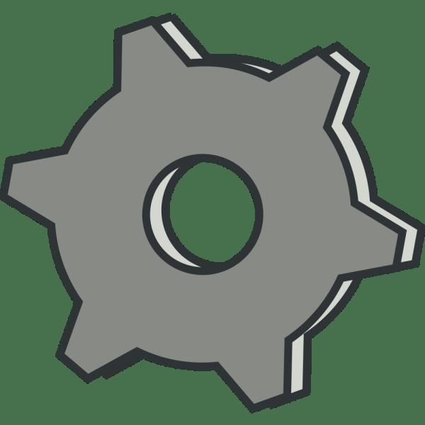Onlinelabels Clip Art - Gear