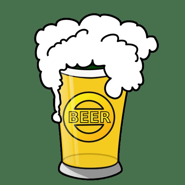 onlinelabels clip art - beer glass