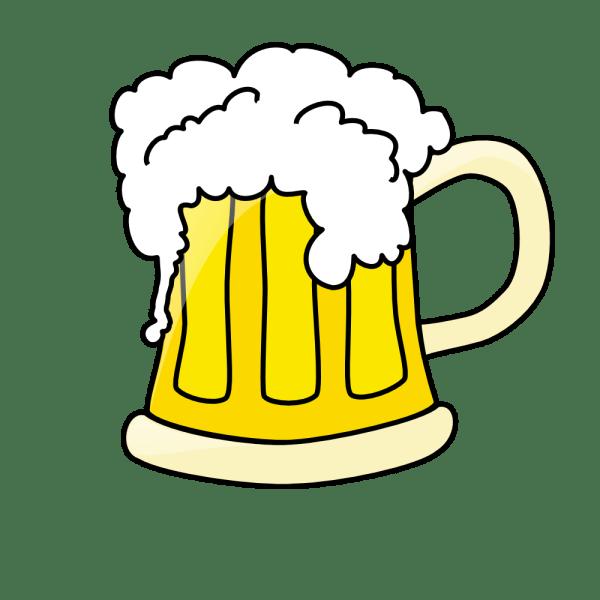 onlinelabels clip art - beer mug