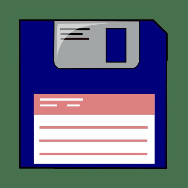 Onlinelabels Clip Art - Floppy