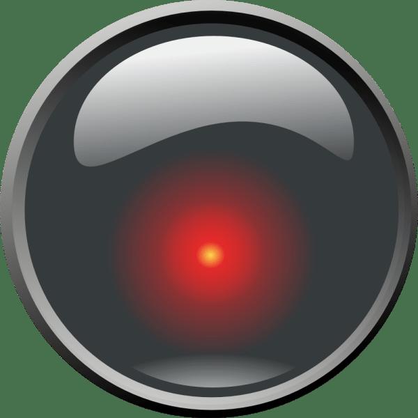 Onlinelabels Clip Art - Hal 9000 Lens