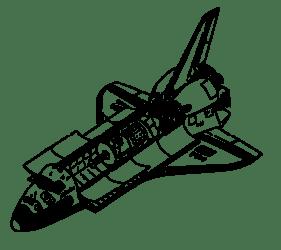 shuttle space clip onlinelabels svg
