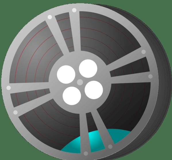 Onlinelabels Clip Art - Film Reel
