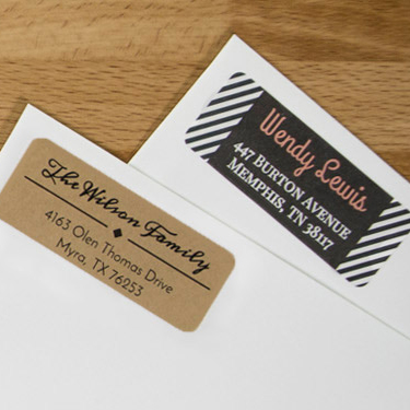 envelope labels shop blank
