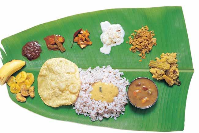 Image result for banana leaf food