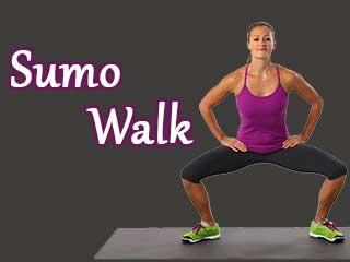 Sumo walk For butt Enlargement
