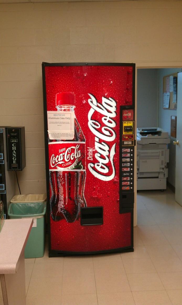 Secret Stash of Coca-Cola Found in Campus Building