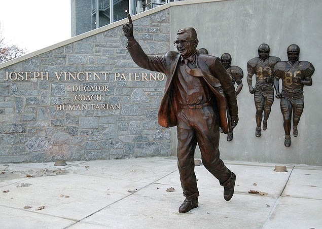 Image result for paterno statue""