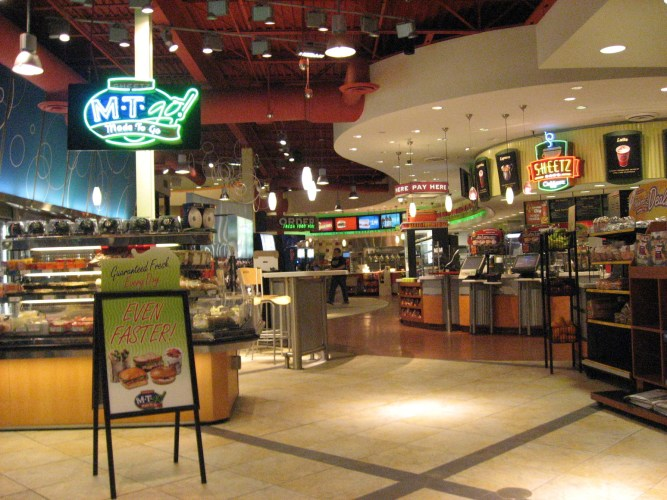 Food Court In Downtown Harrisburg