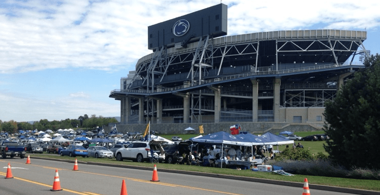 Beaver Stadium Parking Sold Out For White Out Game Onward State