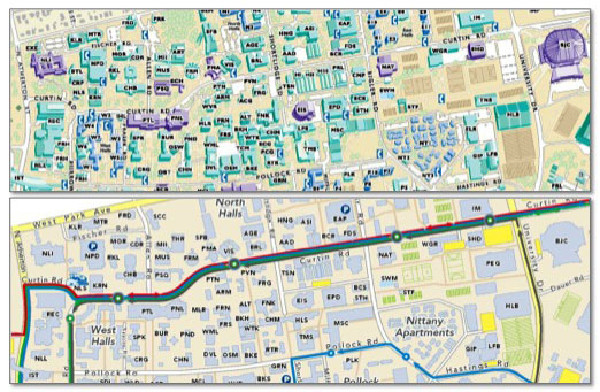 Gould Center Releases Updated Campus Maps Of University Park