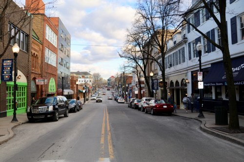 What Pedestrian Malls Look Like In Other College Towns