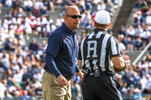 Poor Officiating Nearly Overshadows Penn State-Iowa Game