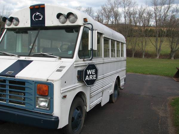 Miniature Penn State Tailgate Bus Up For Sale Tailgate