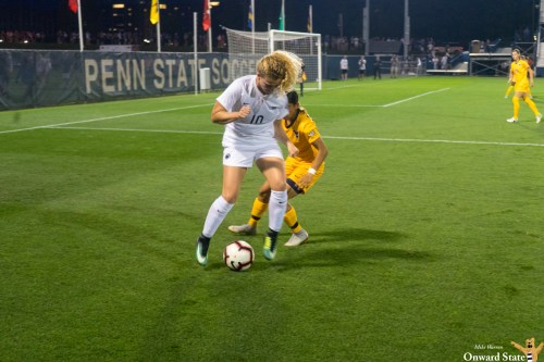 Shea Moyer Lifts Penn State Women's Soccer Past West Virginia 1-0