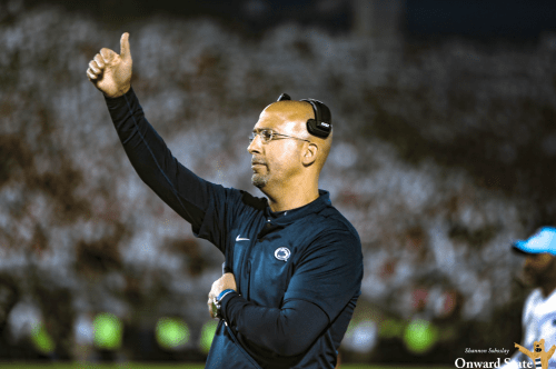 James Franklin Has Intense Exchange With Fan After White Out Loss