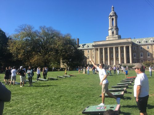 College GameDay Bringing Cornhole Tournament To HUB Lawn