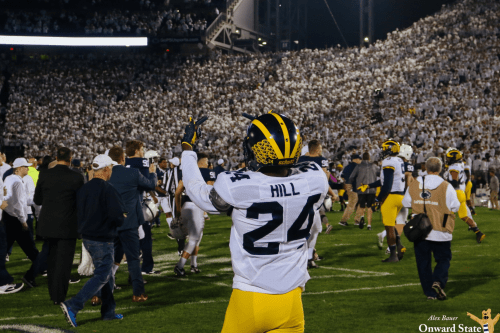 Michigan's Lavert Hill: Penn State 'Disrespected Us' In Last Year's White Out Game