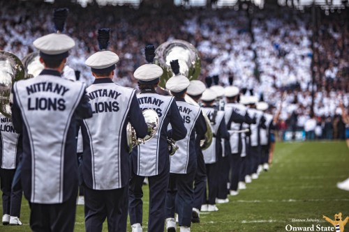 See What Penn State White Out Looks Like With The Blue Band's New Virtual Reality Experience For Recruits